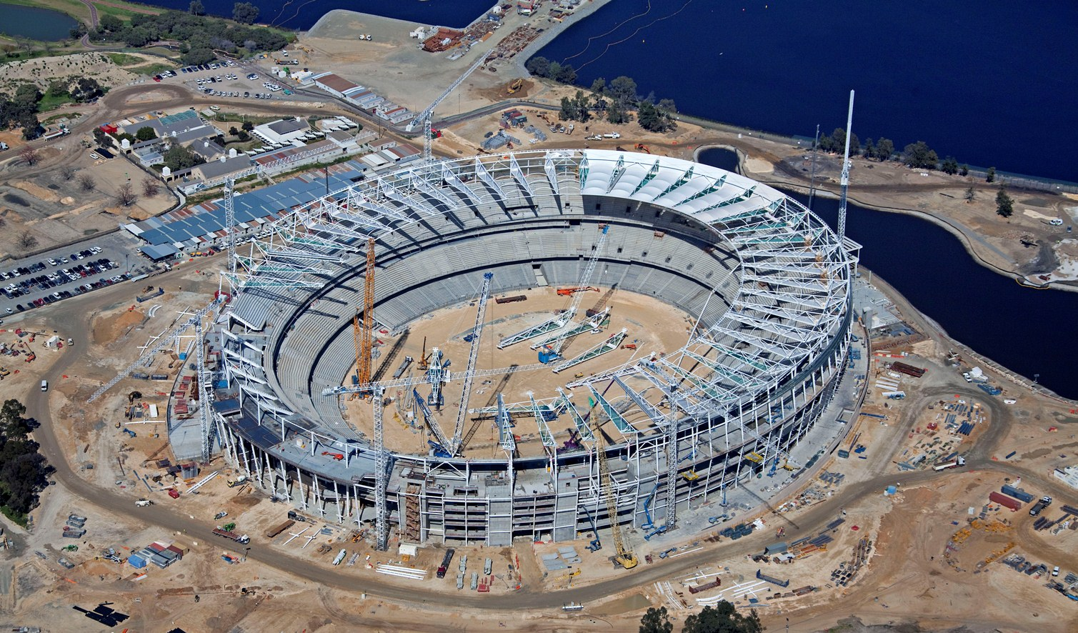 New Perth Stadium Rm Surveys
