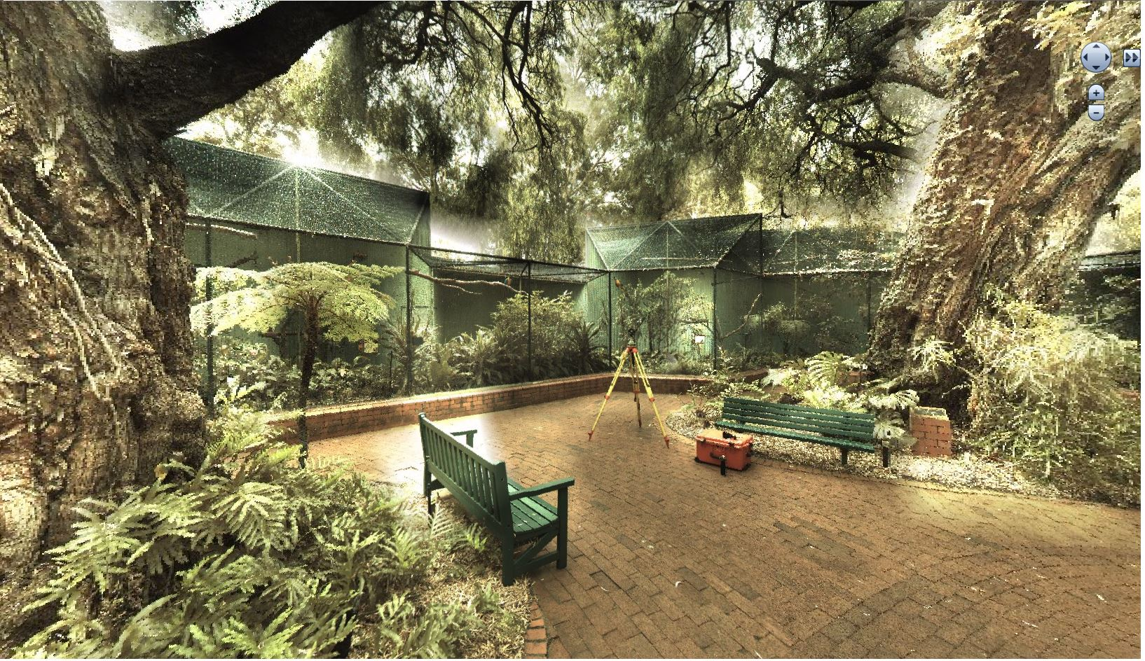 Perth Zoo 3D laser scan
